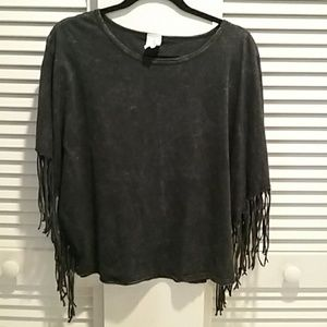 American Age Fringed top